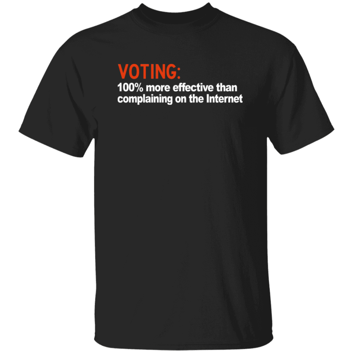 Voting 100% More Effective Than Complaining On The Internet T-Shirts, Hoodies, Tank 1049-9953-80434621-48144 - Tee Ript
