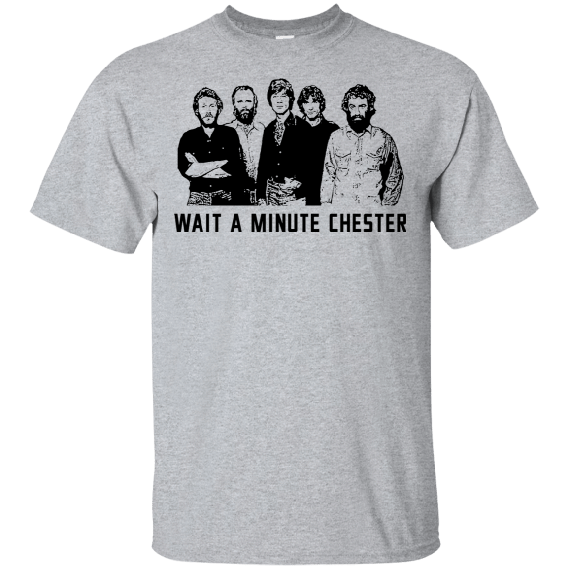 Wait A Minute Chester The Band Version 22-115-73889087-254 - Tee Ript