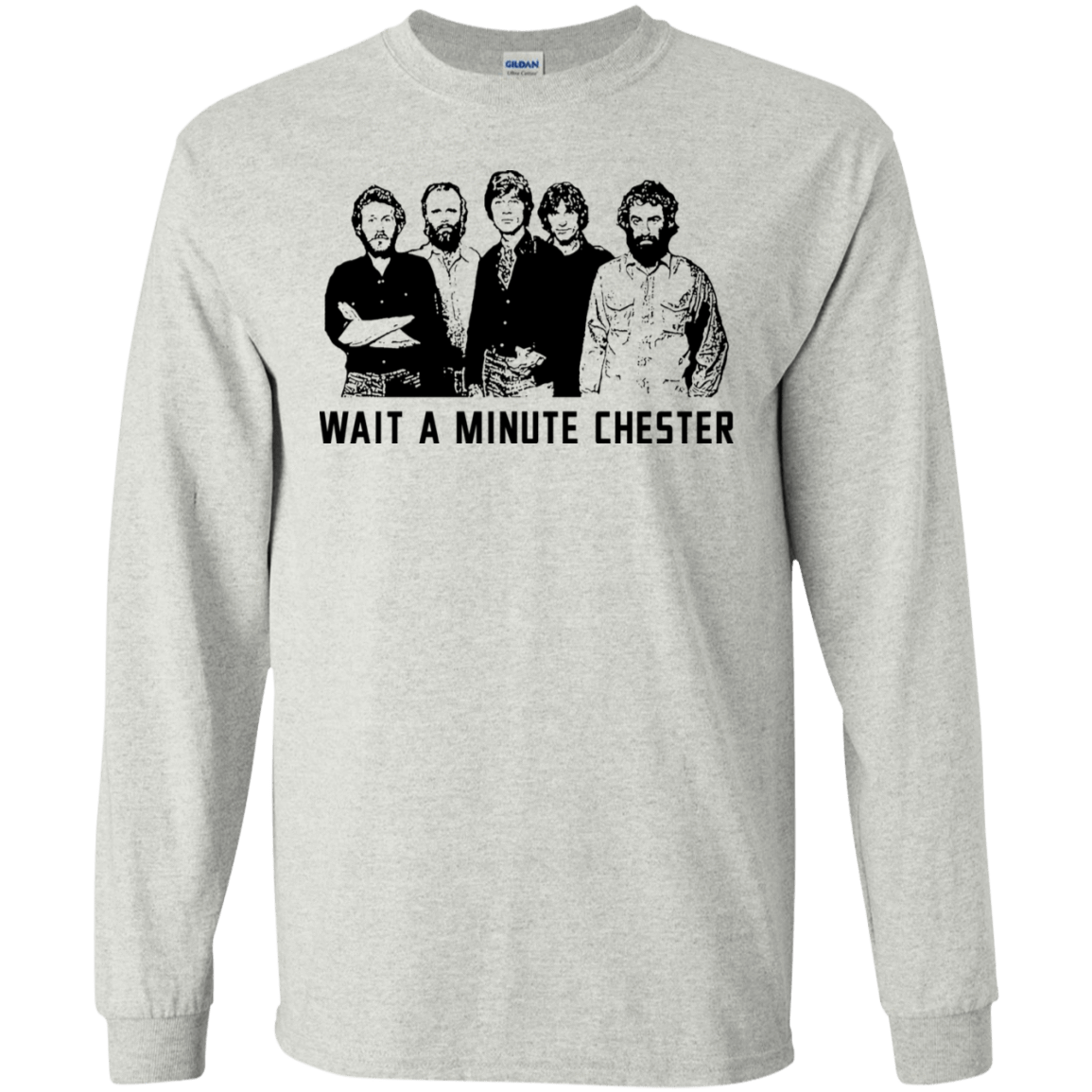 Wait A Minute Chester The Band Version 30-2112-73889088-10754 - Tee Ript