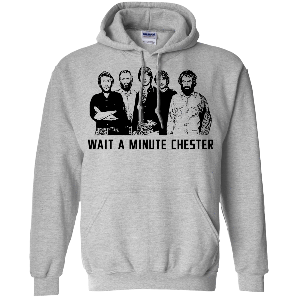 Wait A Minute Chester The Band Version 541-4741-73889089-23111 - Tee Ript