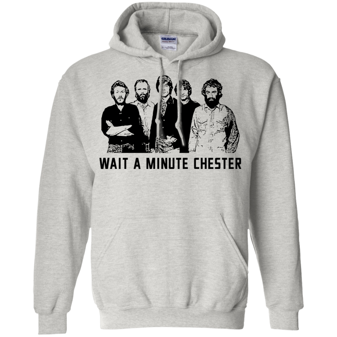 Wait A Minute Chester The Band Version 541-4748-73889089-23071 - Tee Ript