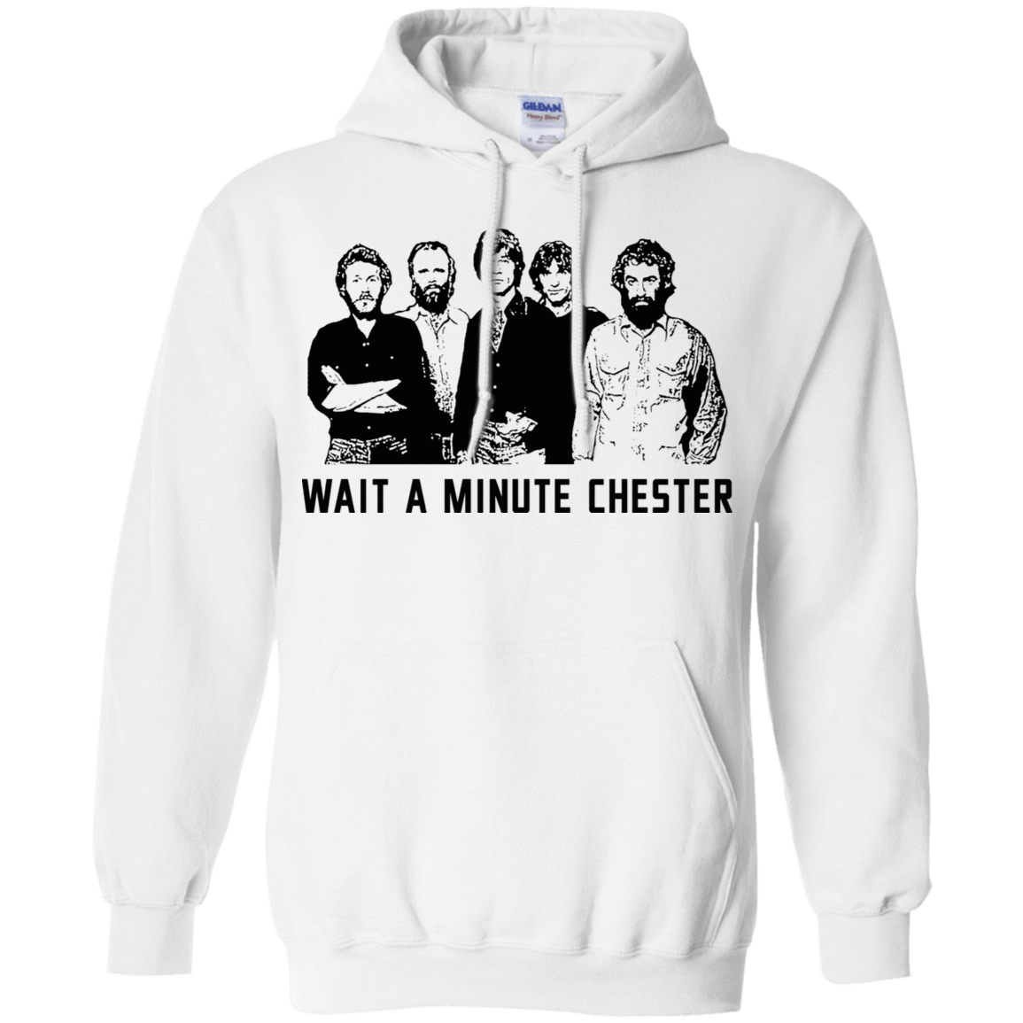 Wait A Minute Chester The Band Version 541-4744-73889089-23183 - Tee Ript