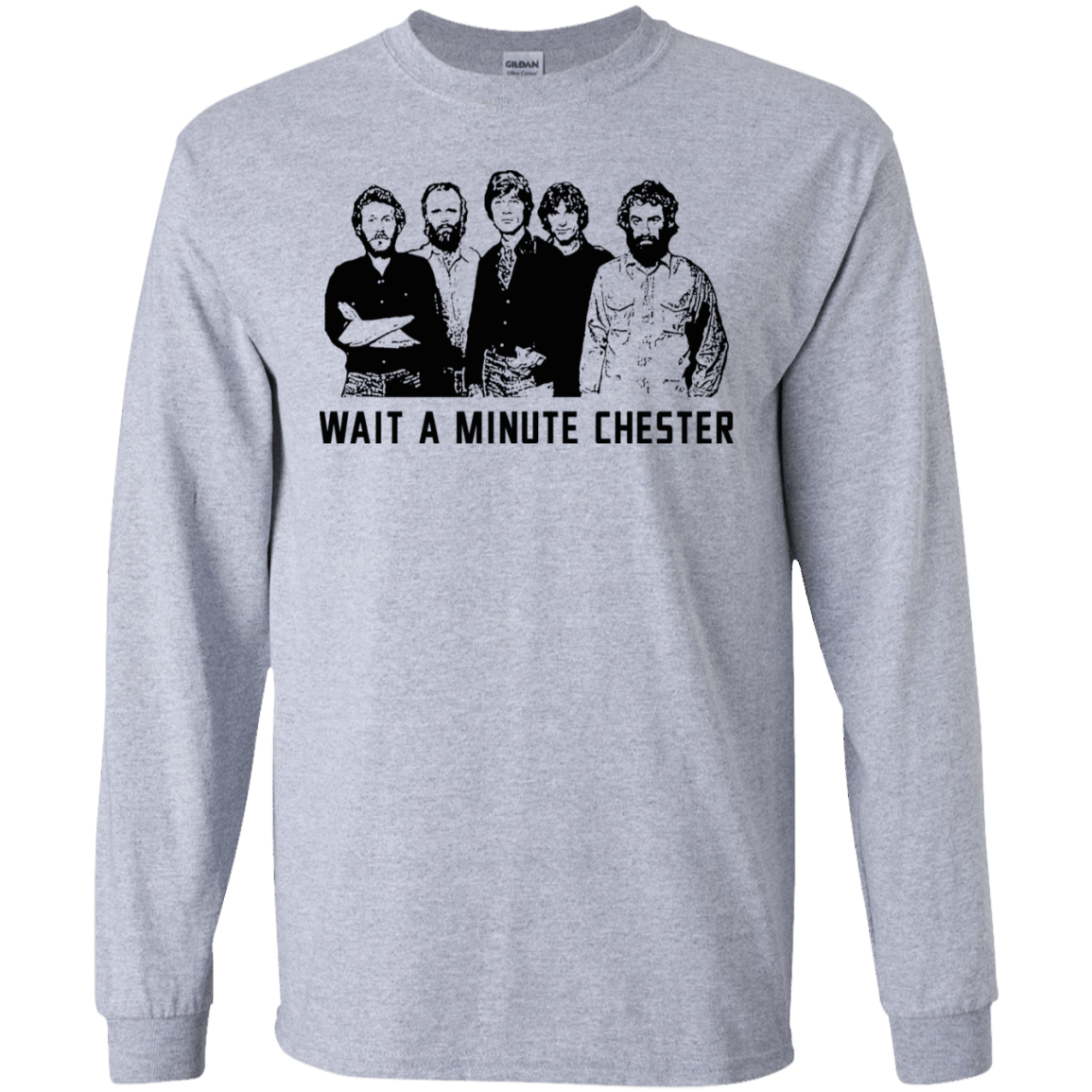 Wait A Minute Chester The Band Version 30-188-73889088-335 - Tee Ript