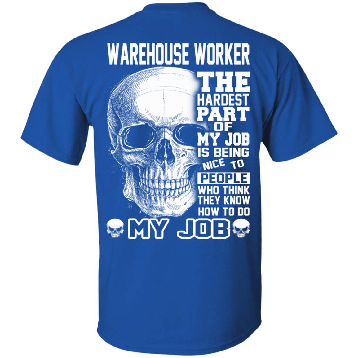 Warehouse Worker The Hardest Part Of My Job 22-110-71609199-249 - Tee Ript