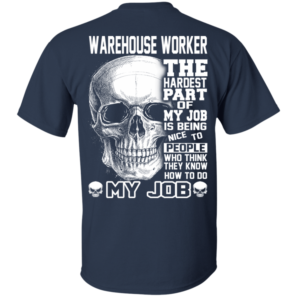 Warehouse Worker The Hardest Part Of My Job 22-111-71609199-250 - Tee Ript