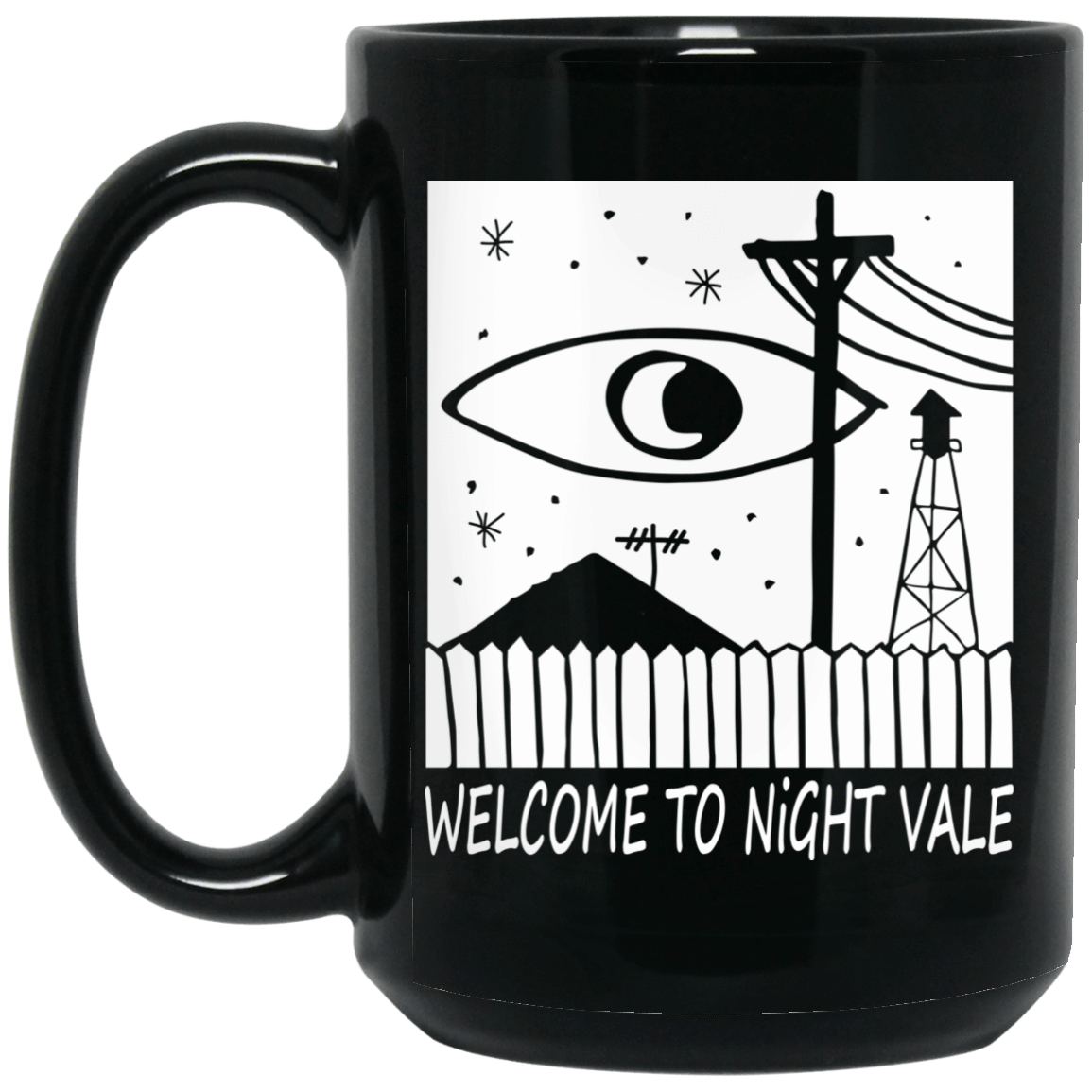 Welcome To Night Vale Analog Logo Mug 1066-10182-80246215-49311 - Tee Ript