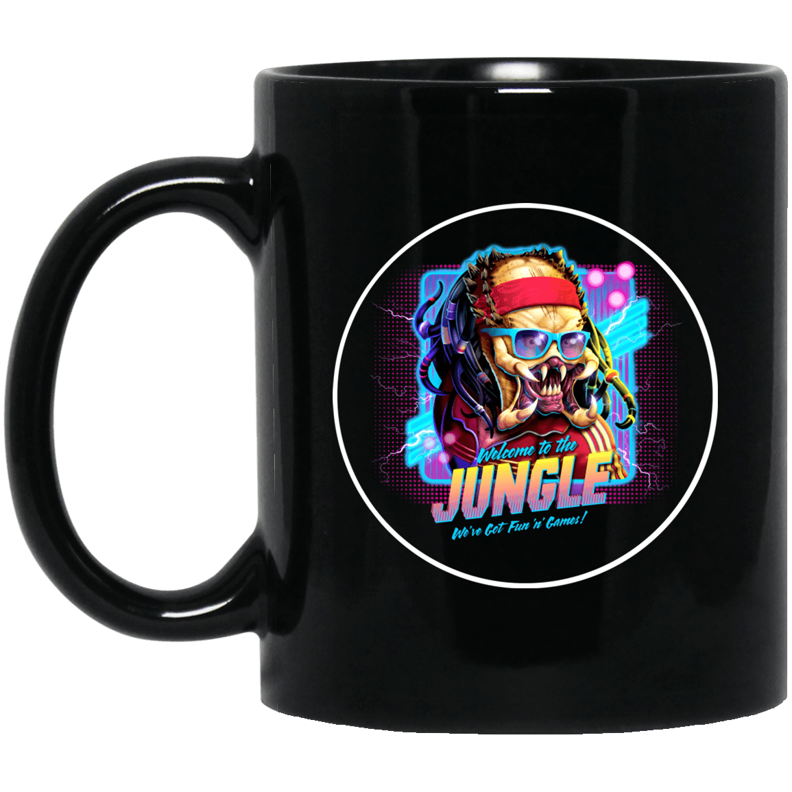 Welcome To The Jungle We've Got Fun'n' Games Mug 1065-10181-89726621-49307 - Tee Ript