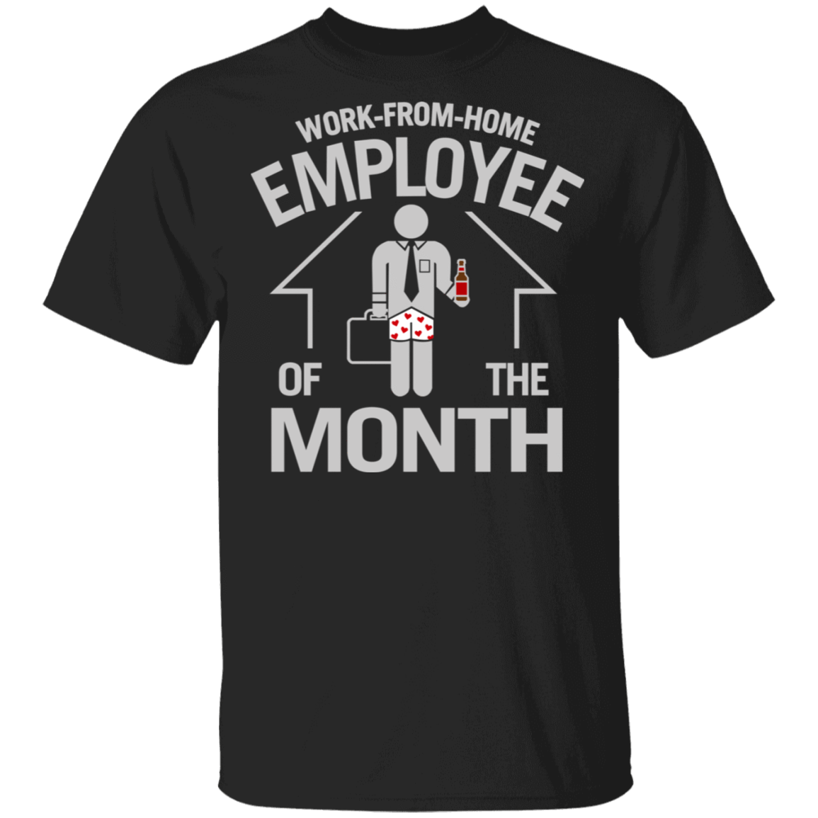 Work-From-Home Employee Of The Month T-Shirts, Hoodies 1049-9953-86026488-48144 - Tee Ript