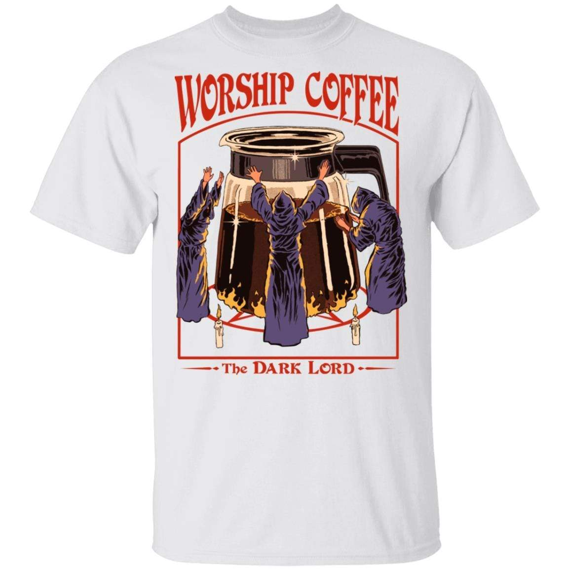 Worship Coffee The Dark Lord T-Shirts, Hoodies 1049-9974-89706084-48300 - Tee Ript