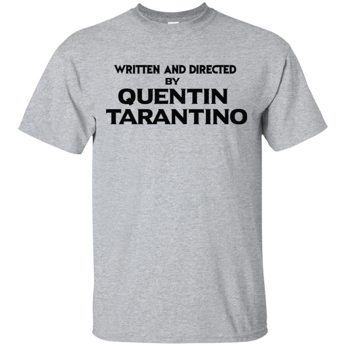 Written And Directed By Quentin Tarantino 22-115-71738998-254 - Tee Ript