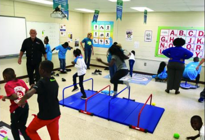 Moving Lessons Shake Up Learning at Cainhoy Elementary -- HUGER, SC
