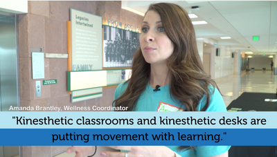 Amanda Brantley: Kinesthetic Classrooms in Poudre School District, CO