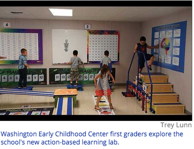 Action Based Learning: Washington Early Childhood Center Implements Innovative Learning Lab