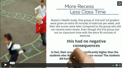 Case Studies Review - The Link between movement and learning