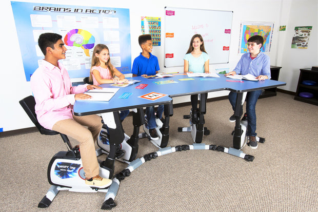 Student Pedal Desk (6-12TH) - actionbasedlearning