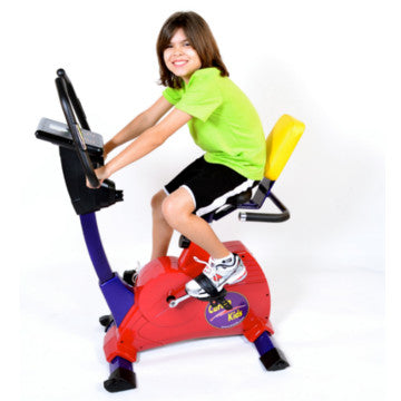 Cardio Kids Semi-Recumbent Bike - actionbasedlearning
