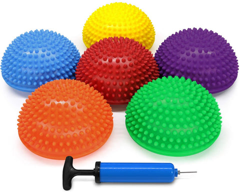 TACTILE BALANCE DOMES (SET OF 6) - actionbasedlearning