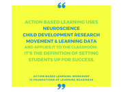 Intro to Action Based Learning and the 12 Foundations [Workshop] - actionbasedlearning