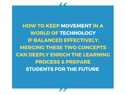 Movement & Technology [Workshop] - actionbasedlearning