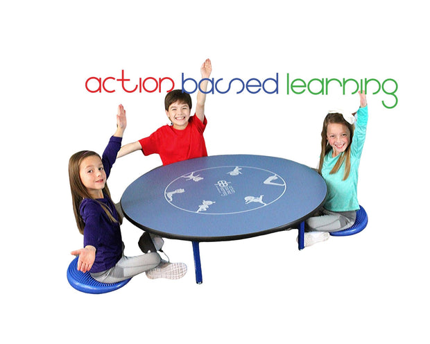 4 Person Yoga Table - actionbasedlearning