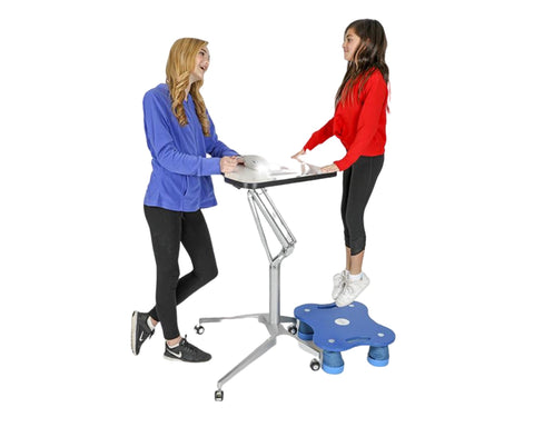 KC-904 Hydraulic Sit/Stand Desk - actionbasedlearning
