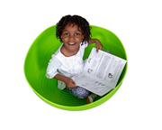 Green Rocking Turtle Shell - actionbasedlearning