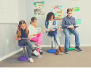 Adjustable wobble chairs (ALL AGES) - actionbasedlearning