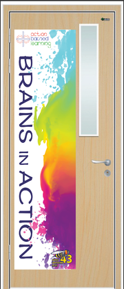Custom Door Graphic