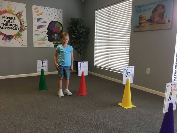 Instructional Cones Set (Set of 5) - actionbasedlearning