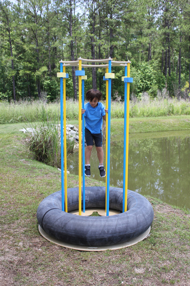 Proprioceptive Jump Island - actionbasedlearning