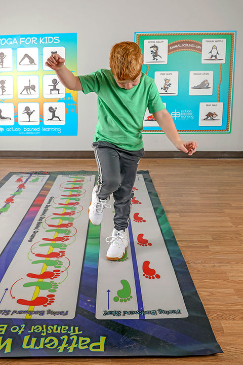 ABL Patterned Walking Mat - actionbasedlearning