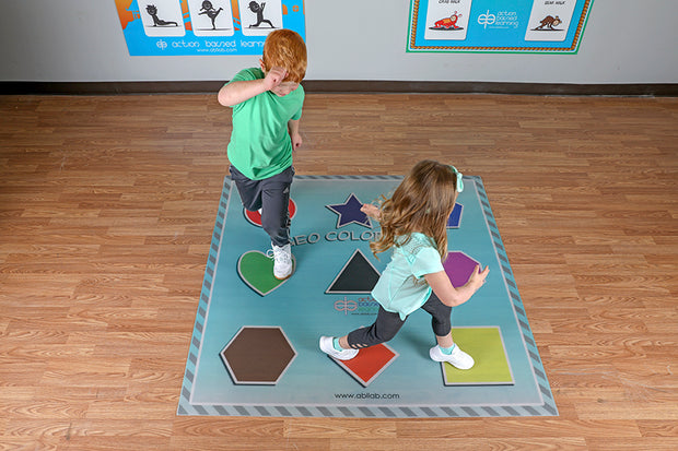 Geo Color Hop Mat
