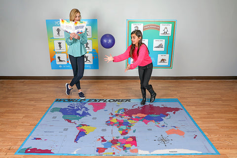 World Explorer Mat - actionbasedlearning