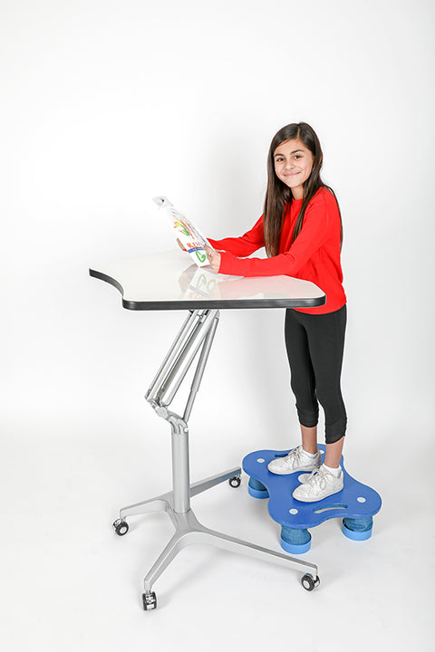 KC-904 CLASSROOM SET Hydraulic Sit/Stand Desk - actionbasedlearning