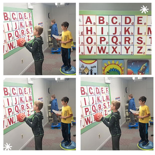 Letter Learning Wall Station