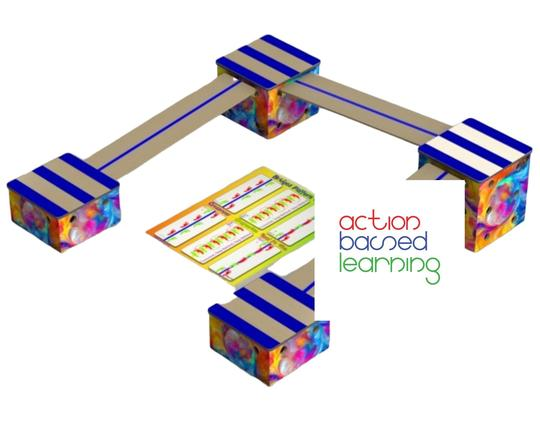 Box and Bridge - Veggie and Neuroconnector Sets - actionbasedlearning