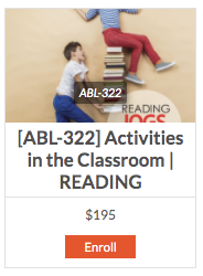 [ABL-322] Reading Jogs the Mind Activities in the Classroom - actionbasedlearning