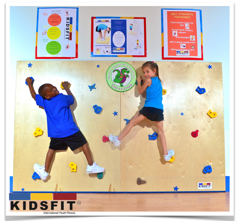 SS120 Super Smooth Climbing Wall - actionbasedlearning