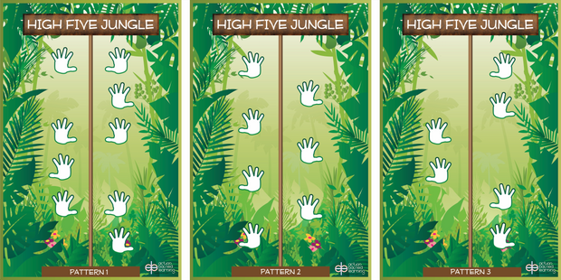 High Five Jungle Wall Station