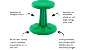Wobble Chairs [PREK-6TH] - actionbasedlearning