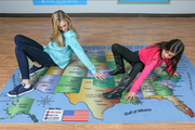 USA Geography Mat - actionbasedlearning