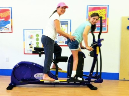 Commercial Tandem Elliptical - actionbasedlearning