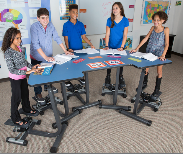 Stepper Desks - actionbasedlearning