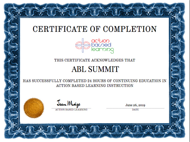 ABL National Summit - actionbasedlearning