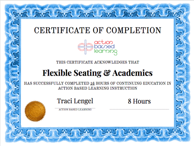 Teaching with  Kinesthetic Desks and  Alternative Seating   [Workshop] - actionbasedlearning