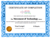 The Movement & Technology Balance [Workshop] - actionbasedlearning