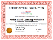 ABL - 12 Foundations [Workshop] - actionbasedlearning