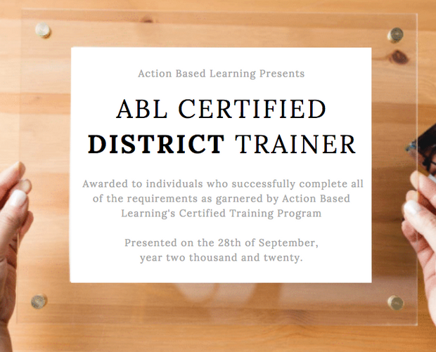 ABL District Trainer Certification