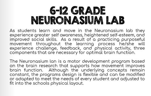 MS/HS Neuronasium Lab