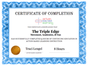The Triple Edge [Workshop] - actionbasedlearning